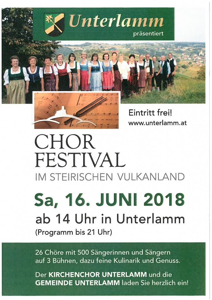Chorfestival 2018